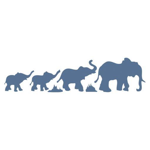 Pochoir ELEPHANTS 60