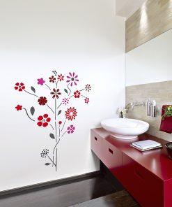 Stencil FLOWER 712