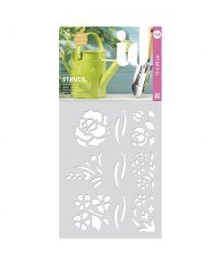 Stencil FLOWERS 145
