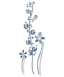 Pochoir FLOWERS 204