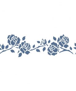 Stencil ROSES 38