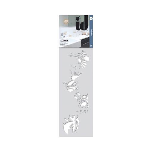 Stencil UNDERWATER VIEW 77