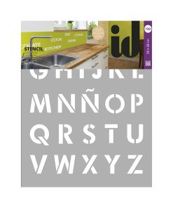Stencil LETTERS 720