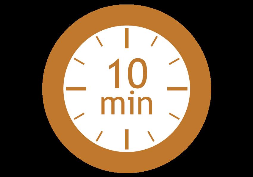 séchage 10 min