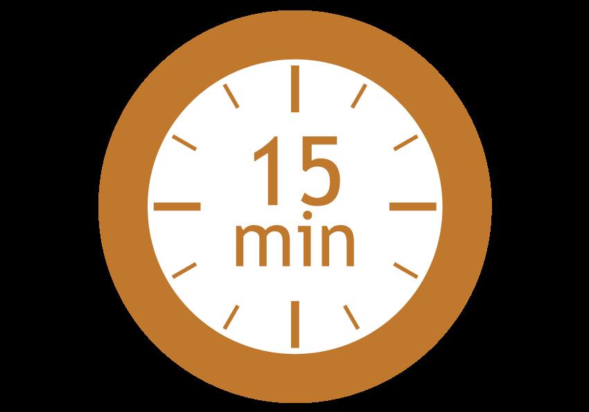 séchage 15 min