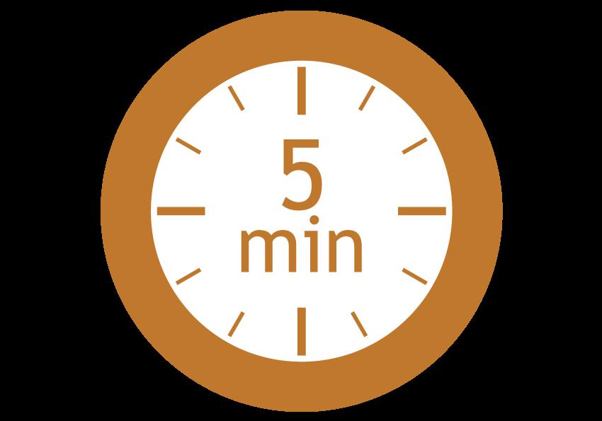 séchage 5 min