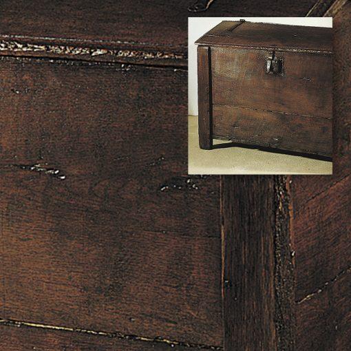 Durcisseur bois vermoulu - malle réparée