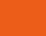 PEINTURE POCHOIR Mandarine