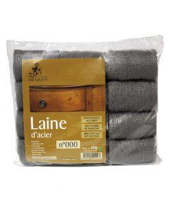 Tampons de laine d'acier