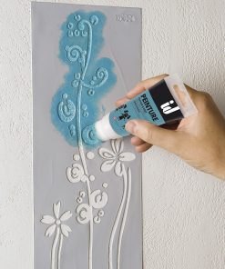 Appli tube peinture pochoirs