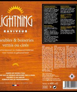 Aérosol Raviveur LIGHTNING_EV