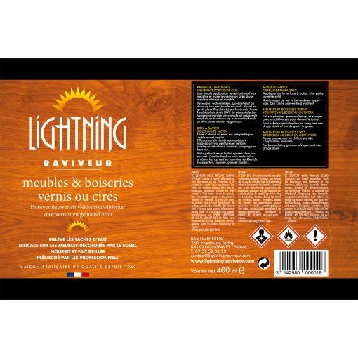 Flacon Raviveur LIGHTNING_EV