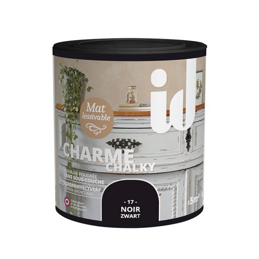 Charme Chalky -500ML - 17 Noir - ID-Paris