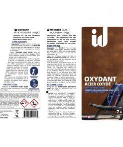 Oxydant Acier oxydé 1L _ EV