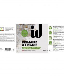 Primaire & Lissage _ EV
