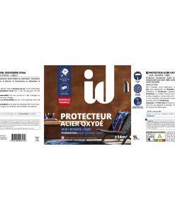 Protecteur Acier oxydé _ EV